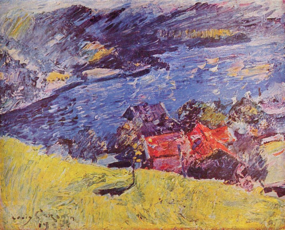 Ловис Коринт. Озеро Вальхен