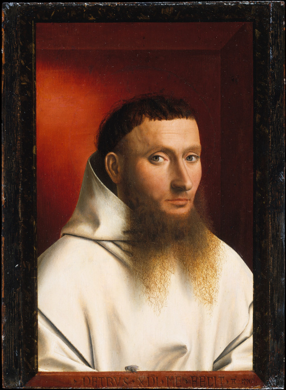 Petrus Christus. Portrait of a Carthusian