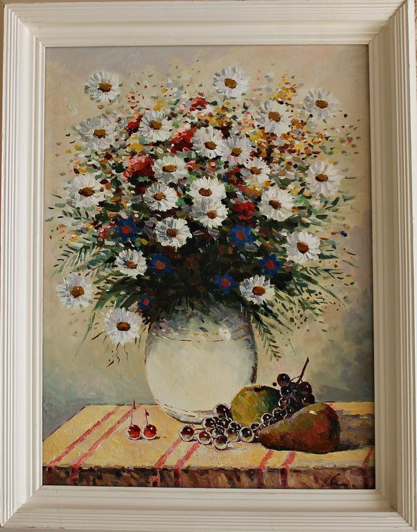 Evgeny Vasilyevich Small. Bouquet with fruits