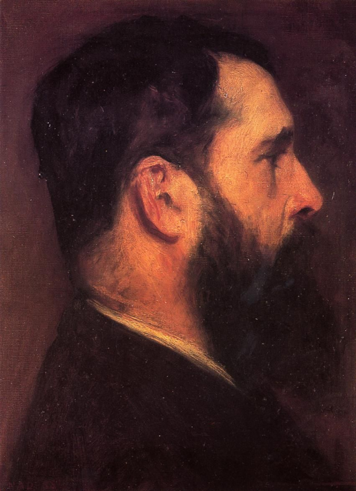 Джон Сингер Сарджент. Портрет Клода Моне