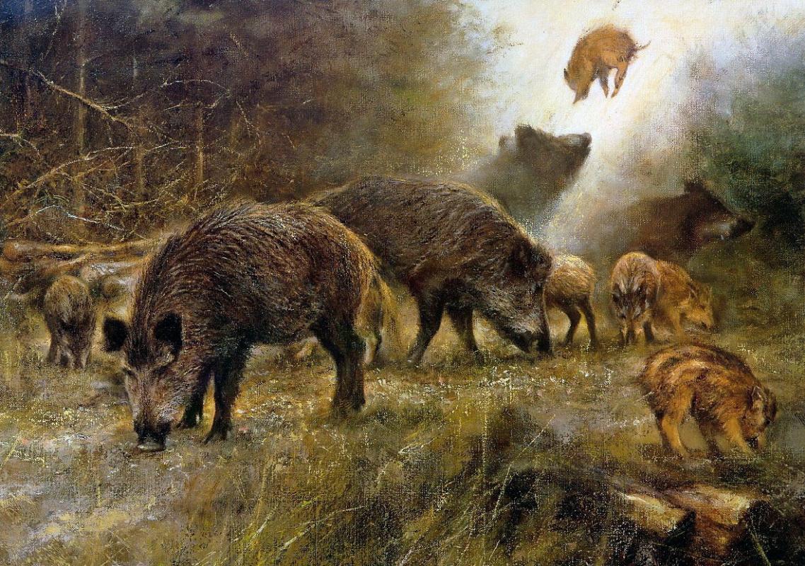 Картинки художников с природой и описание