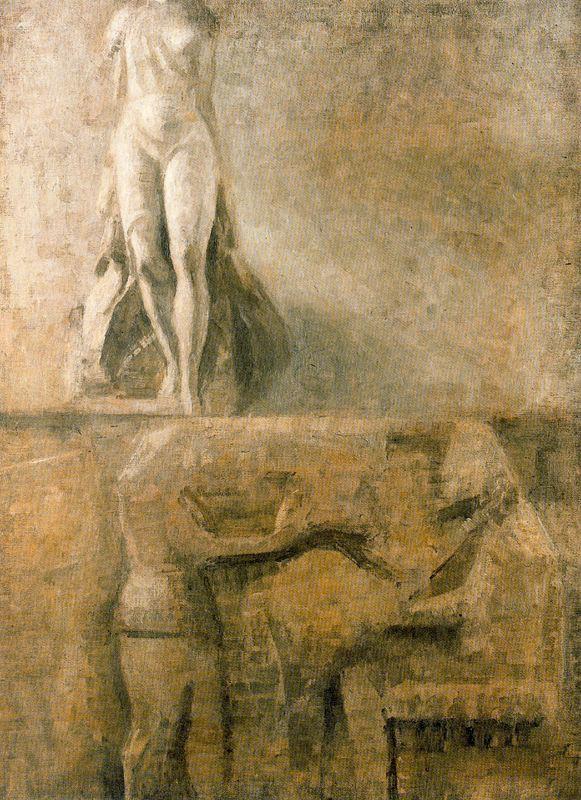 Вильгельм Хаммерсхёй. Фрагмент египетского барельефа