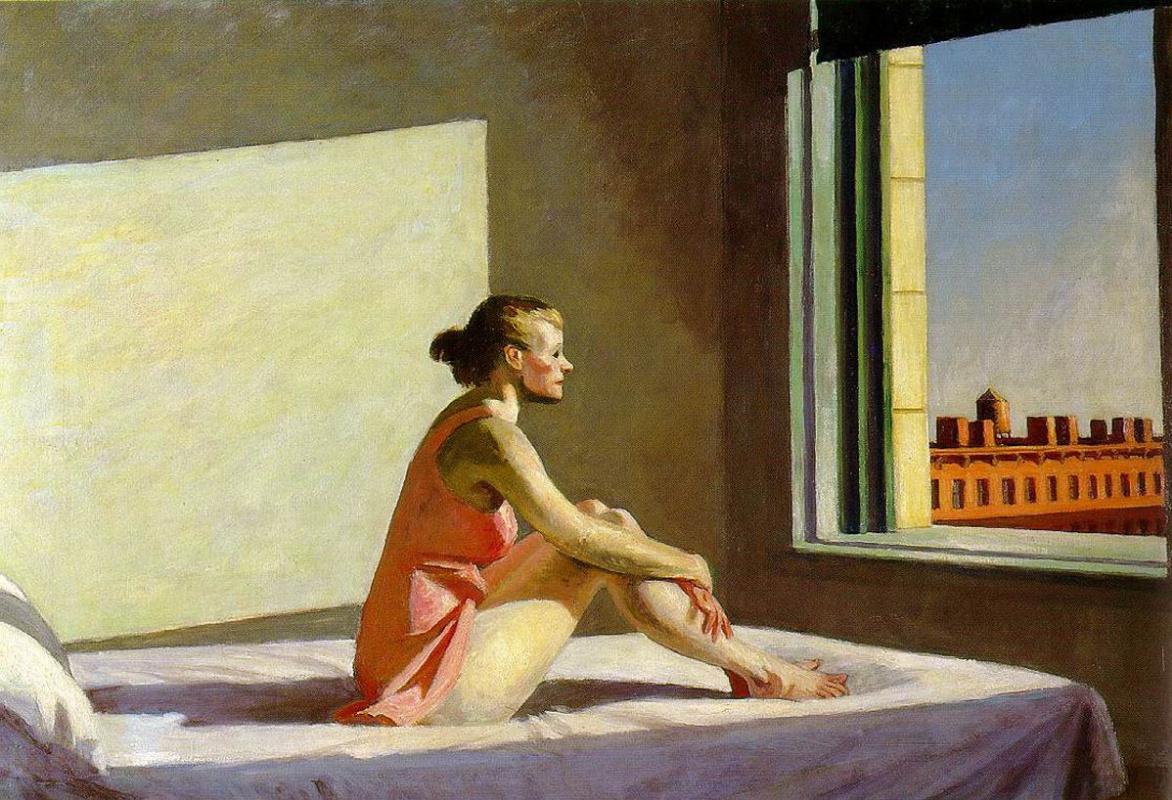 Edward Hopper. The morning sun