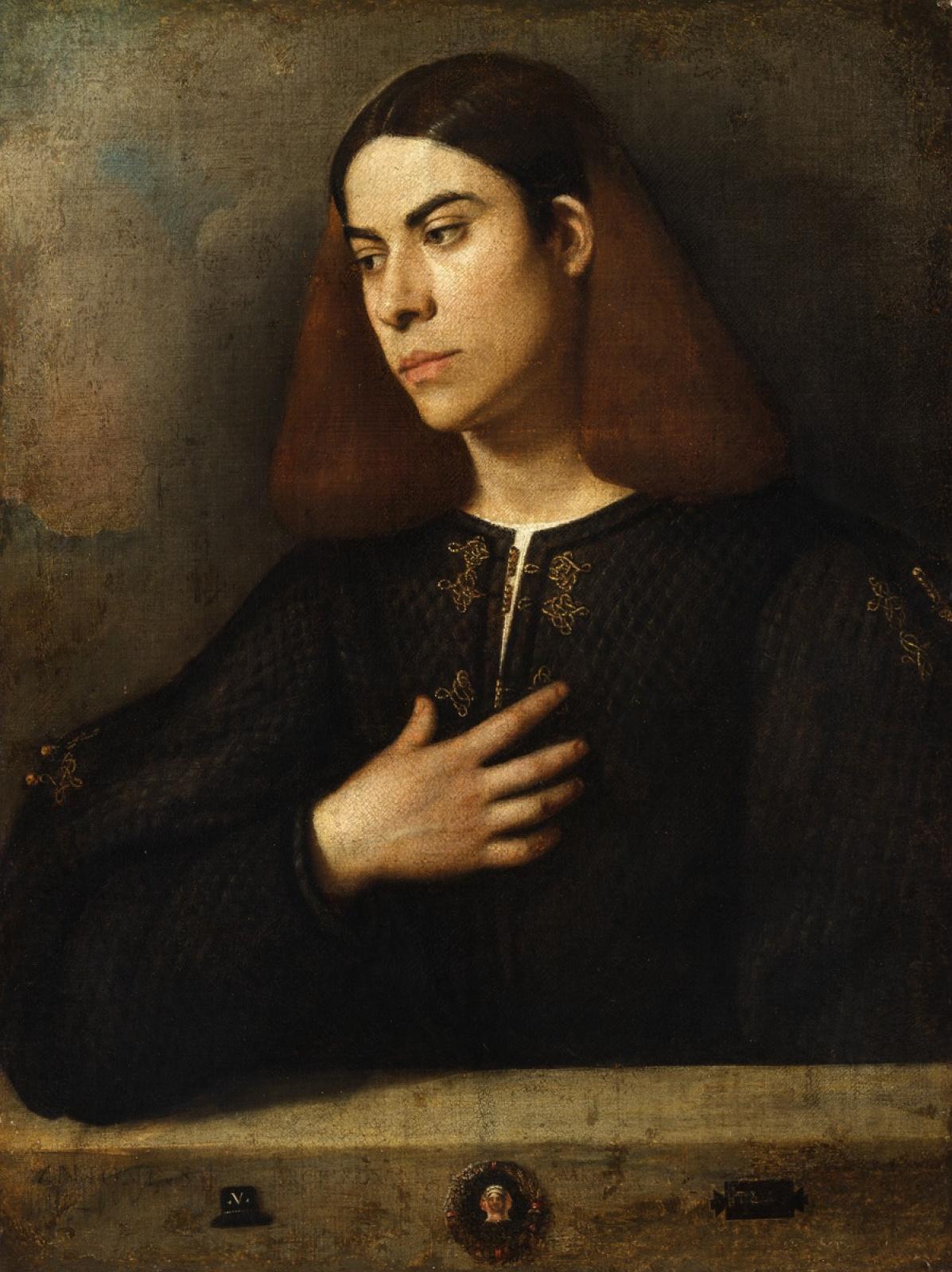 Джорджоне. Портрет молодого человека (Антонио Броккардо)