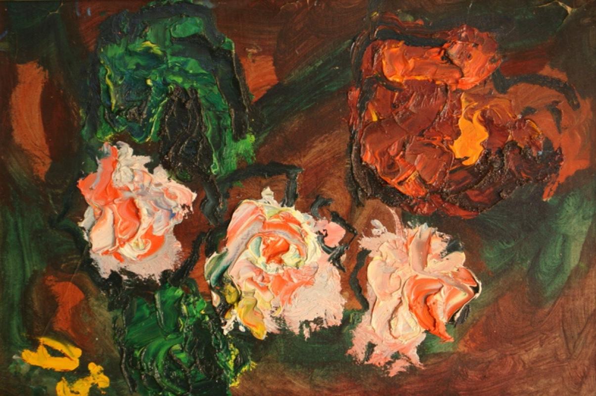 Арон Фроимович Бух. Цветы