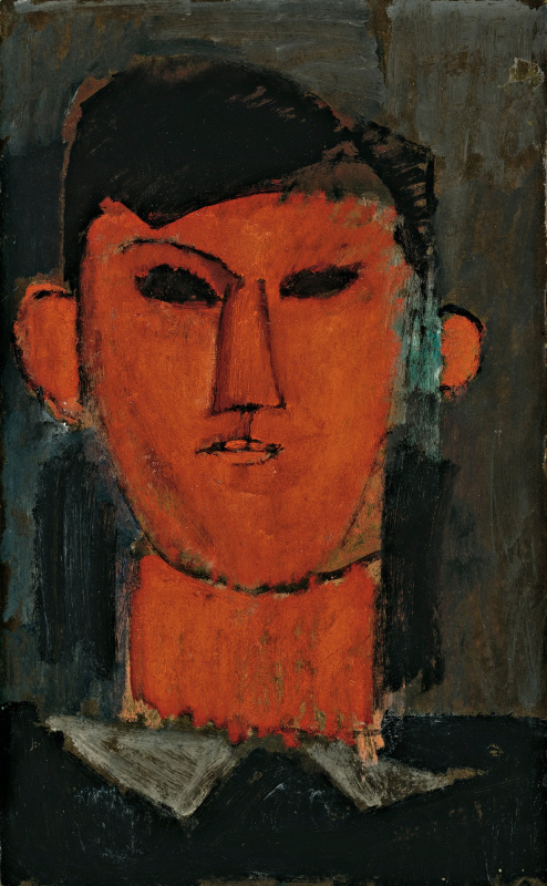 Amedeo Modigliani. Portrait Of Pablo Picasso