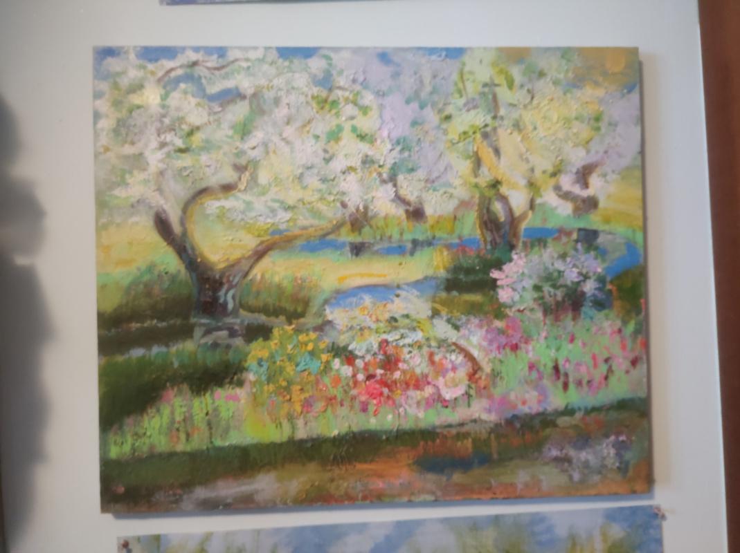 Igor Lysov. Яблони цветут