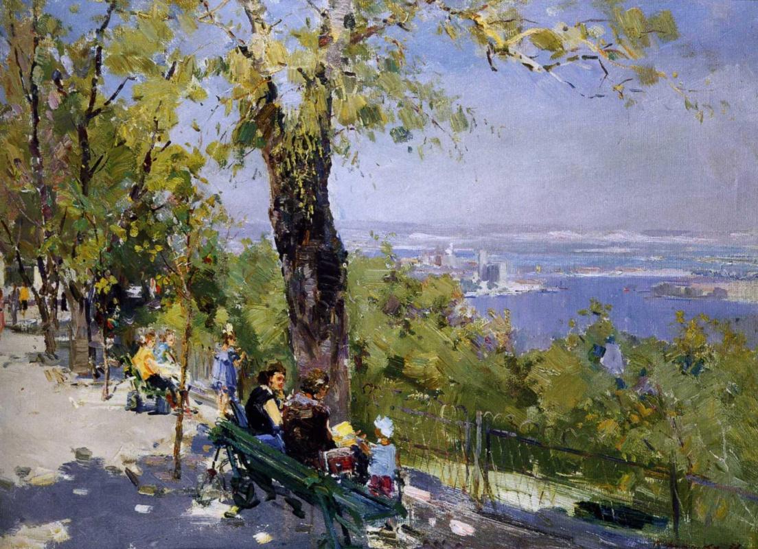 Сергей Федорович Шишко. В парке над Днепром