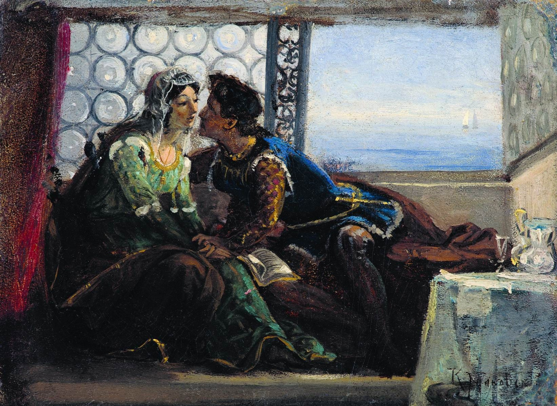 Konstantin Makovsky. Romeo and Juliet