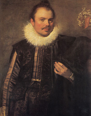 Frans Hals. Portrait of an unknown young man
