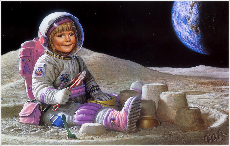 Майкл Уилан. Лунная песочница