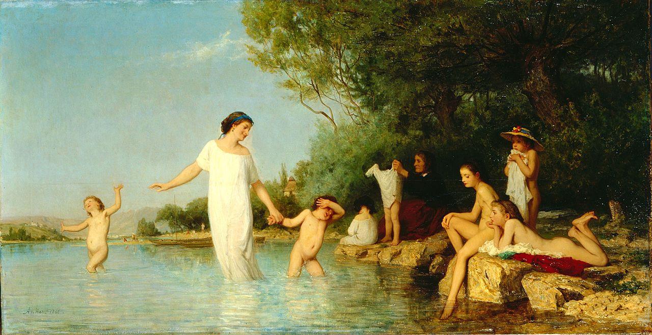 Albert Anchor. Bathers