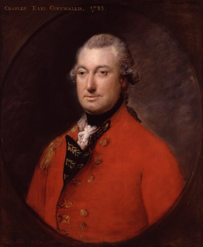 Thomas Gainsborough. Charles Cornwallis, 1st Marquis Cornwallis