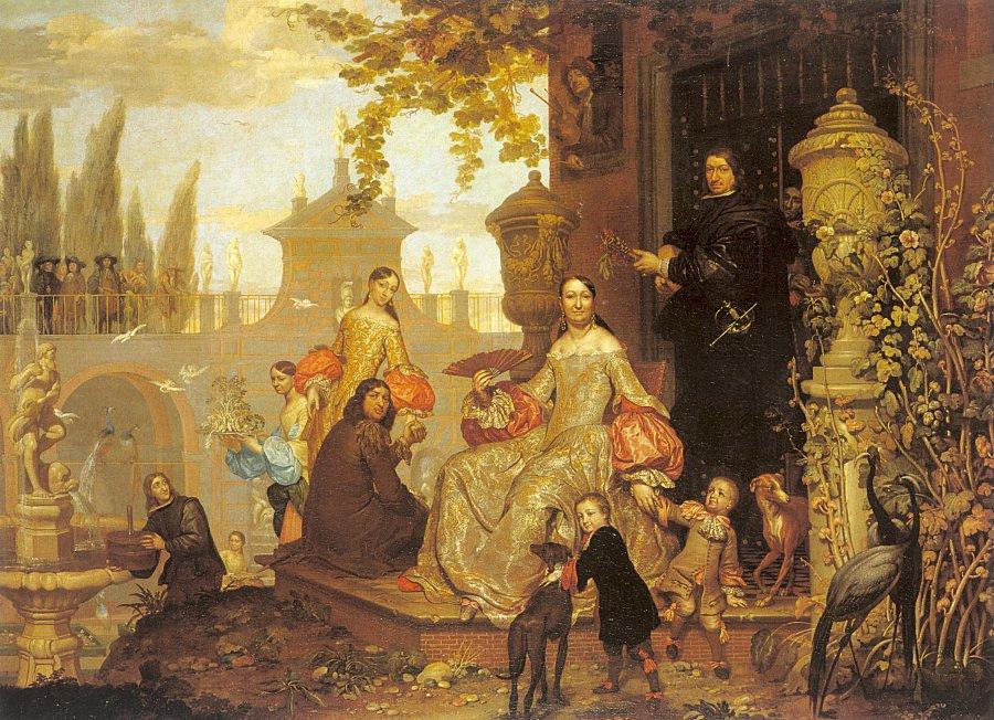 Jan van Kessel Elder. Plot 1