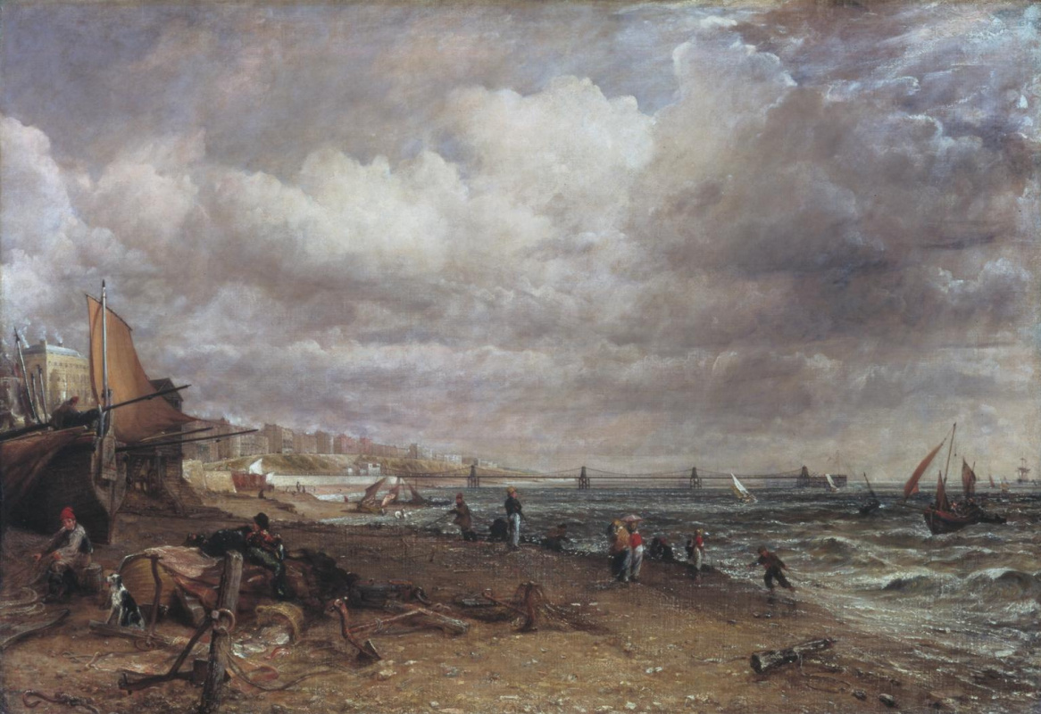 John Constable. Chain pier, Brighton
