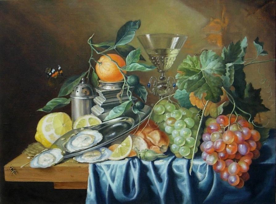 Igor Lemekhov. Dutch still life (copy)