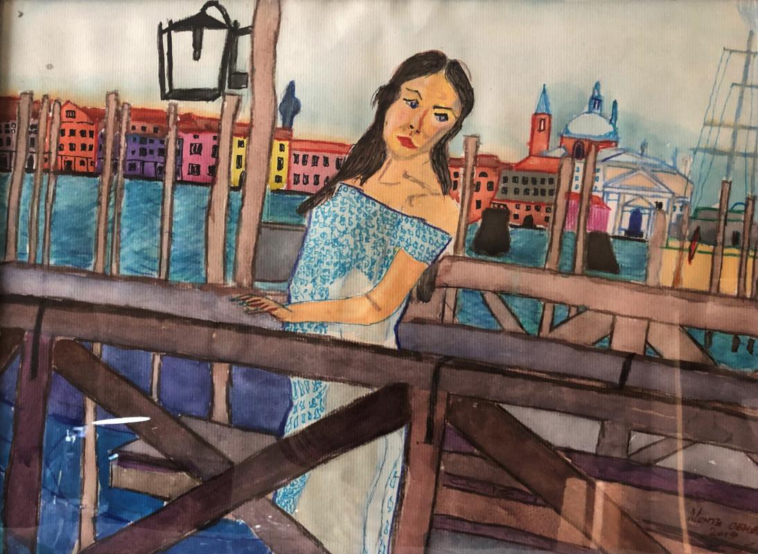 Sergey Vladimirovich Sebini. Venice. Dreams Come True .