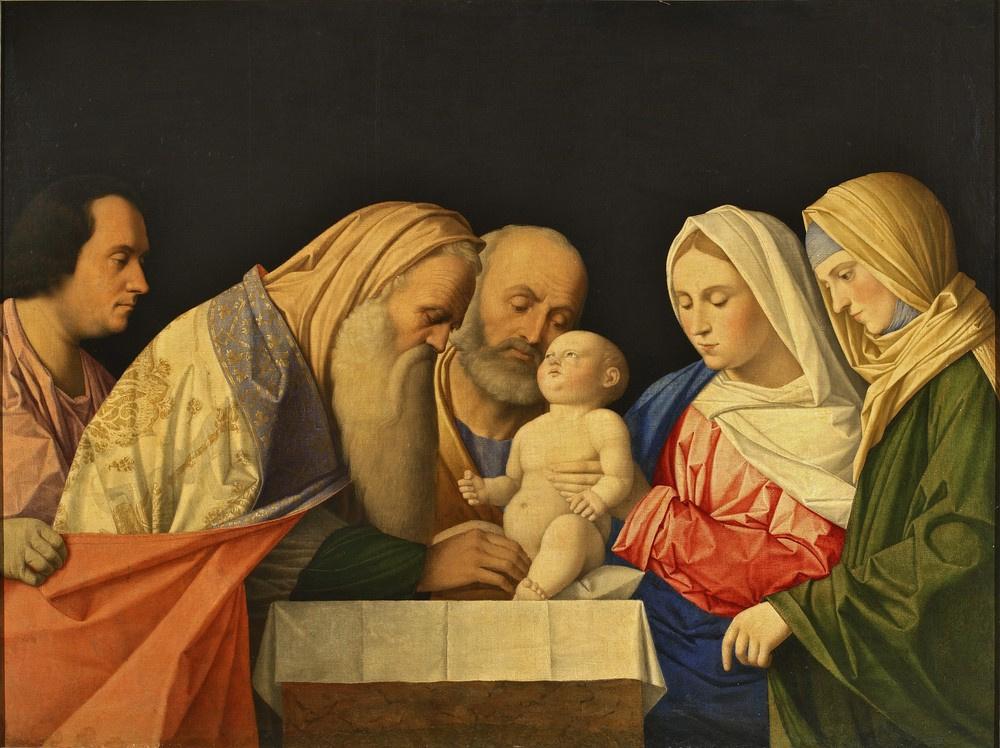 Vincenzo Di Biagio Catena. Circumcision of baby Jesus