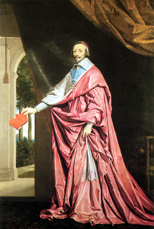 Филипп де Шампень. Кардинал Ришелье