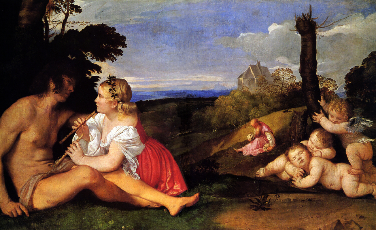 Titian Vecelli. Three age