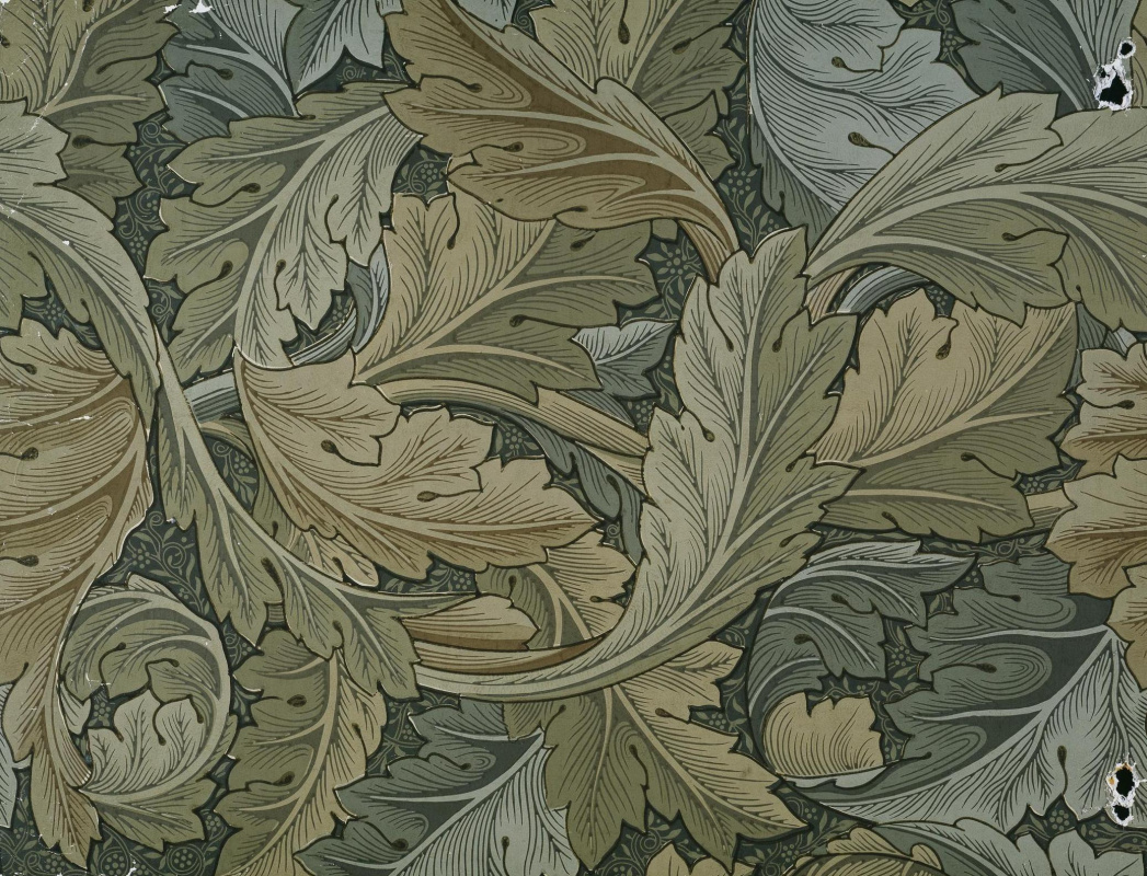 Уильям Моррис. Переплетенные листья