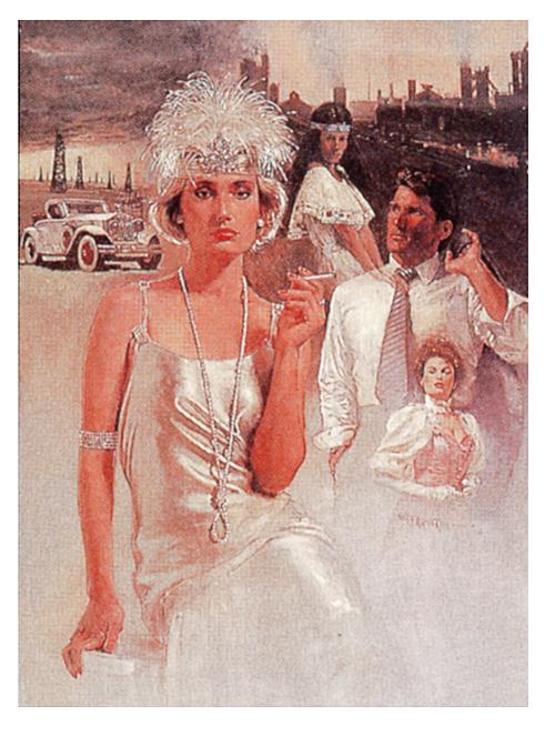 Дама в белом