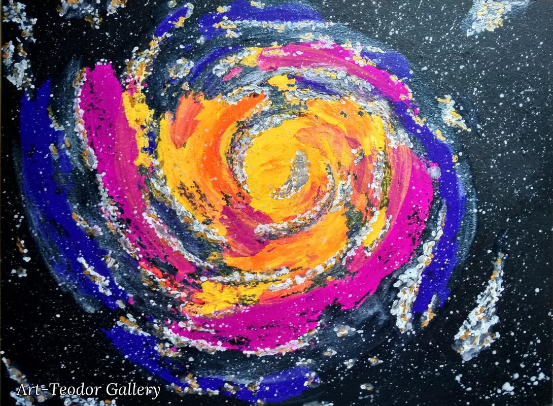 Art-Teodor Gallery. Галактический водоворот