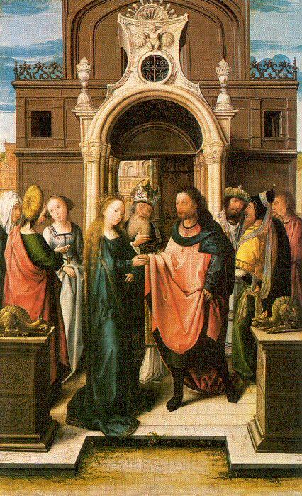 Баренд ван Орли. Богородица с младенцем