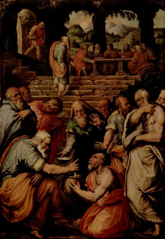Giorgio Vasari. The Prophet Elisha