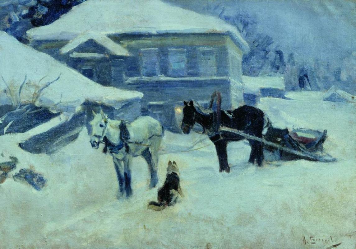 Alexey Stepanovich Stepanov (1780-1887). Inn. 1912