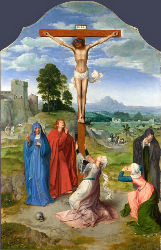Quentin Masseys. Crucifixion of Christ