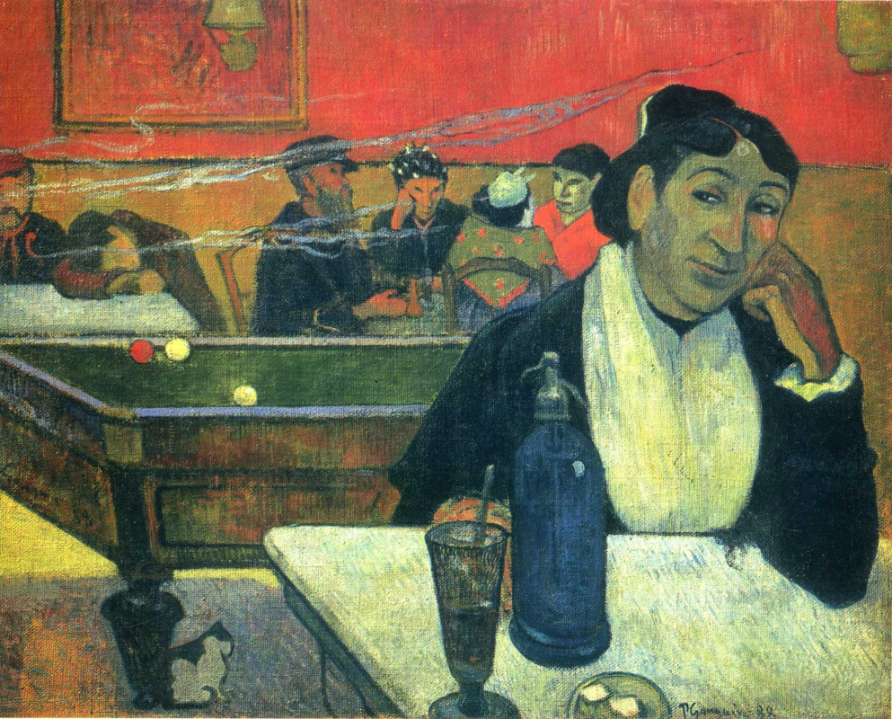 Поль Гоген. Ночное кафе в Арле