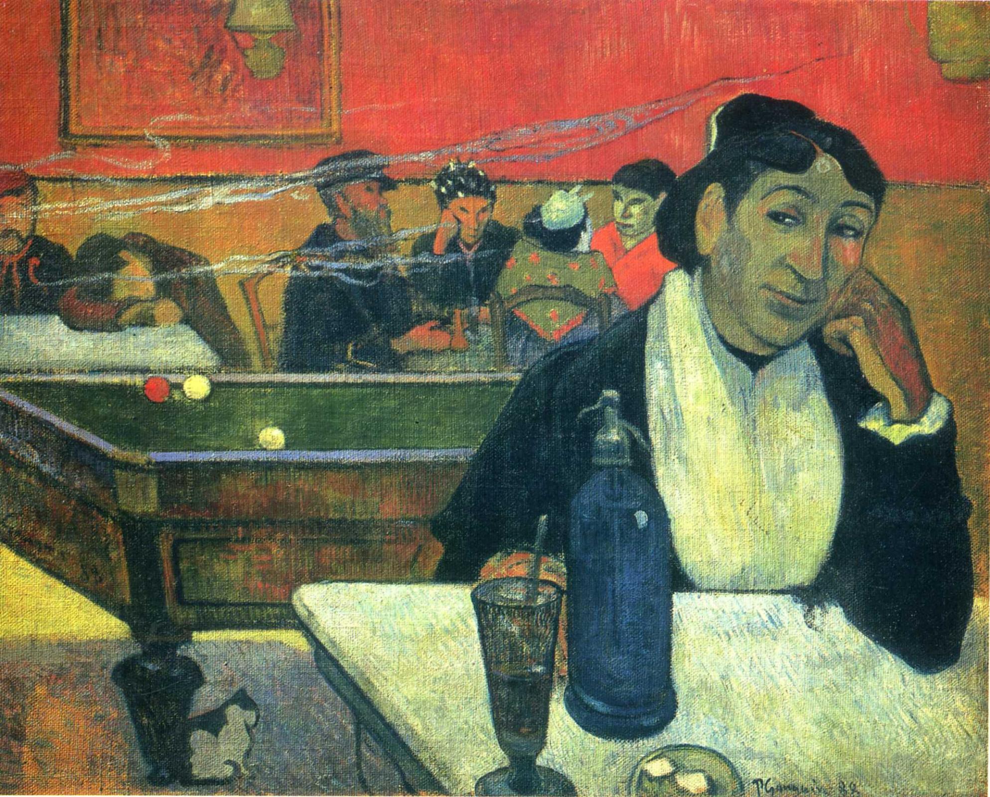 Поль Гоген. Кафе в Арле