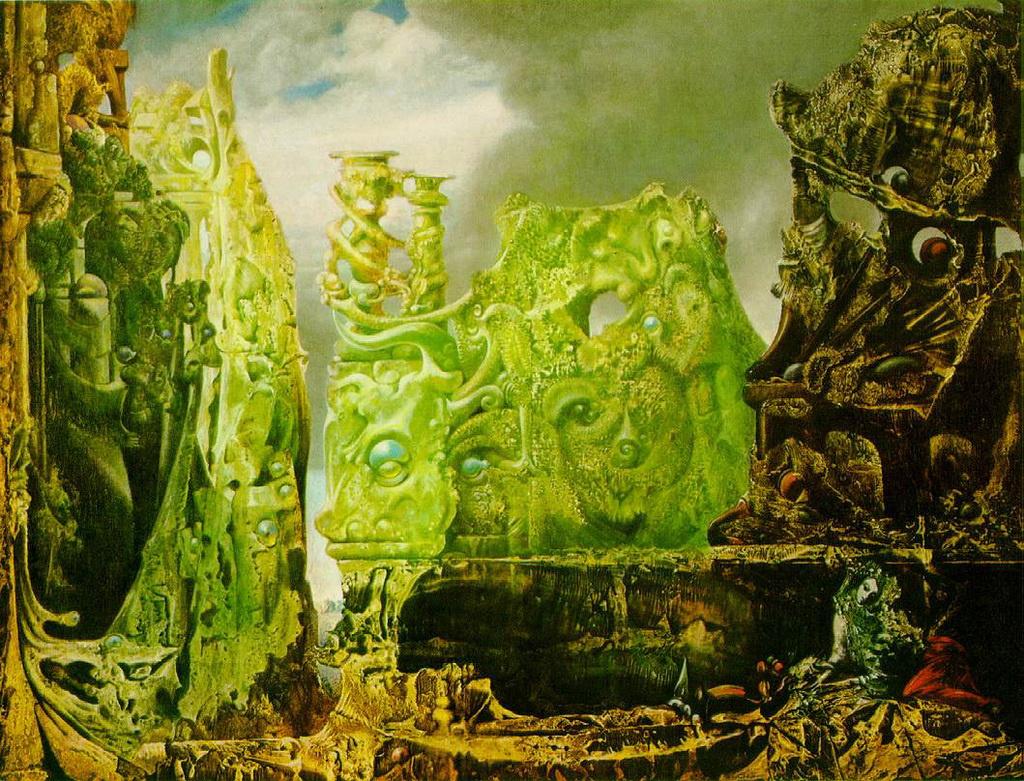Max Ernst. Eye of Silence