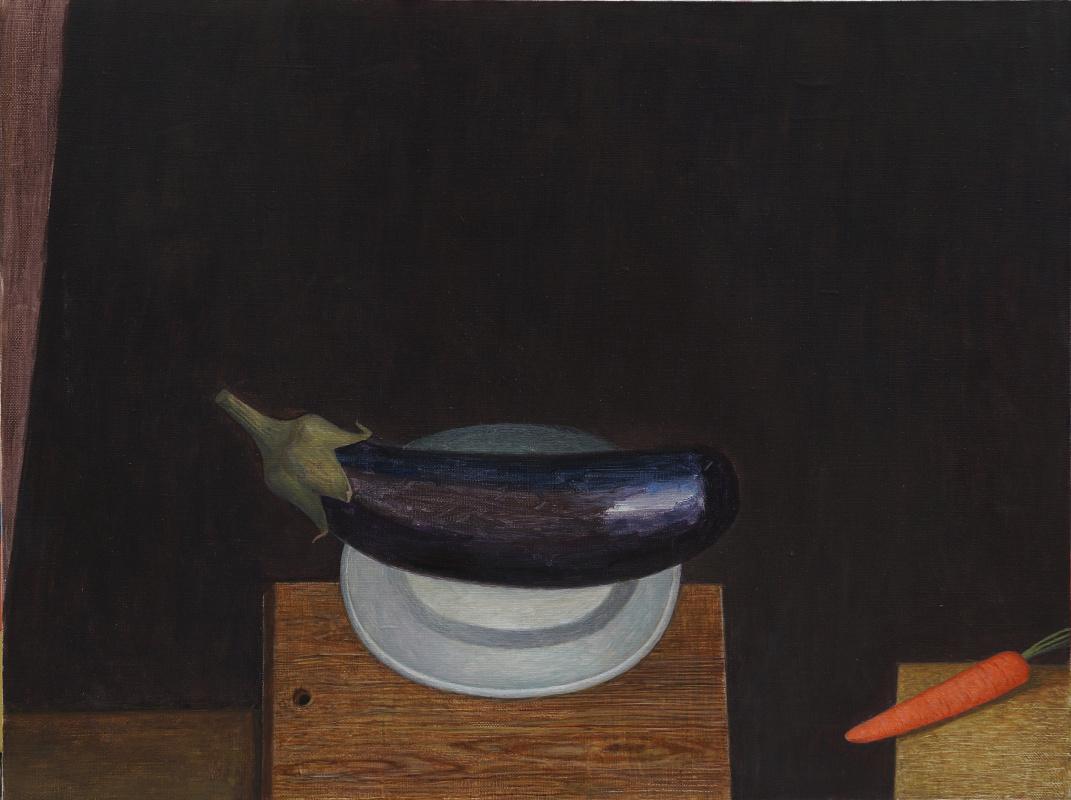 Victor Sidorovich Kraposhin. Eggplant
