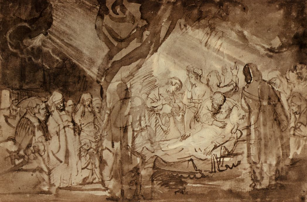 Рембрандт Харменс ван Рейн. Смерть Иакова