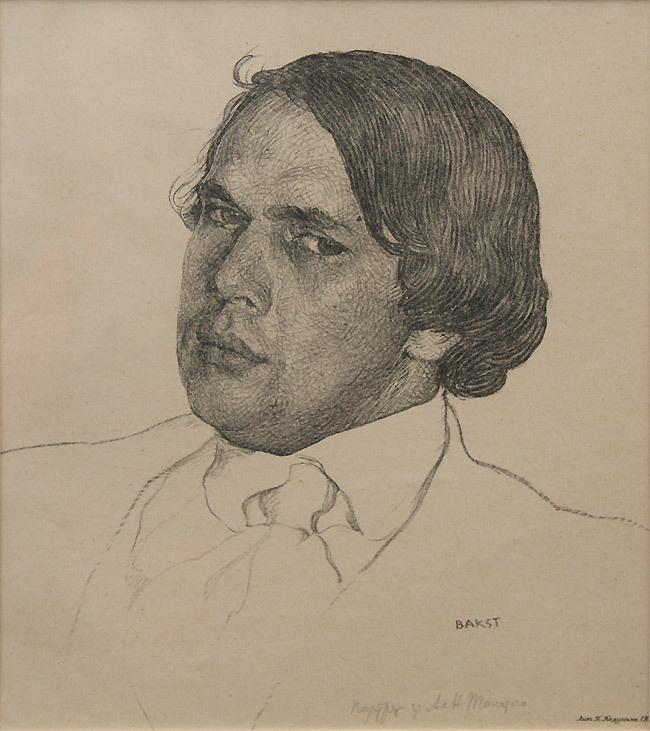 Lev Samoilovich Bakst (Leon Bakst). A portrait of the writer Alexei Tolstoy