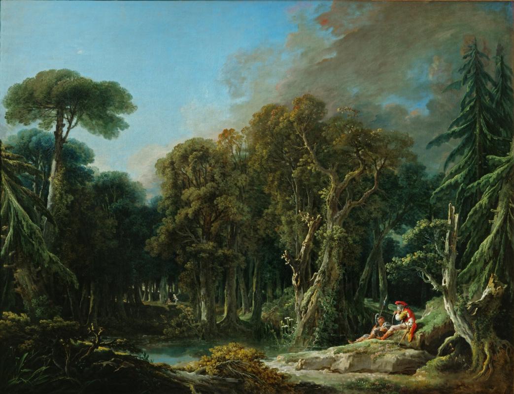 Francois Boucher. Forest