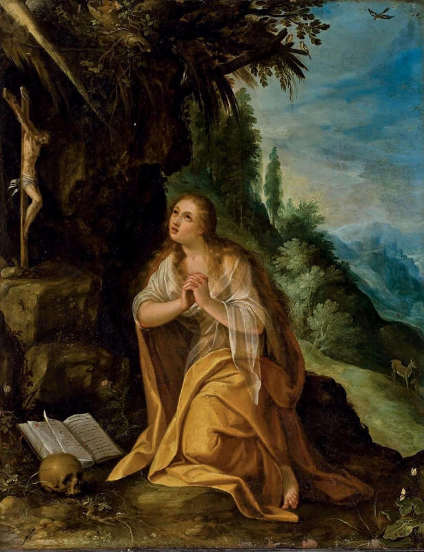 Paul Brill. Penitent St. Mary Magdalene.