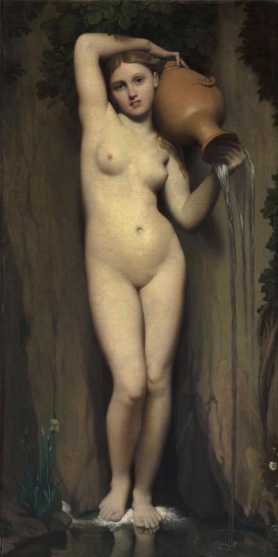 Jean Auguste Dominique Ingres. The spring