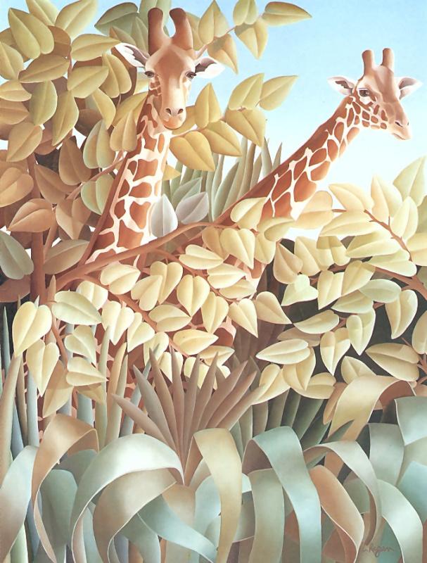 Лаура Риган. Жирафы