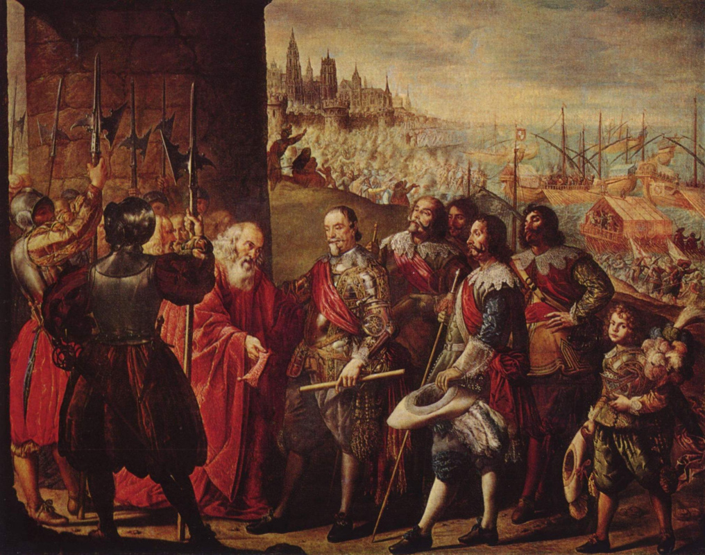 Antonio de Pereda. The rescue of Genoa by the Marquis of Santa Cruz