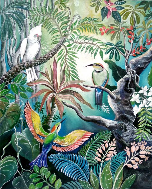 Viola Larkina. Тропический рай