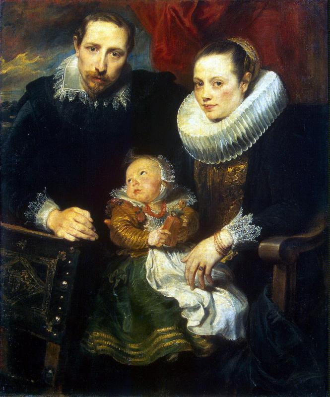 Антонис ван Дейк. Семейный портрет
