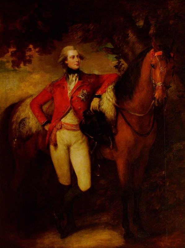 Томас Гейнсборо. Георг, принц Уэльский, позднее Георг IV