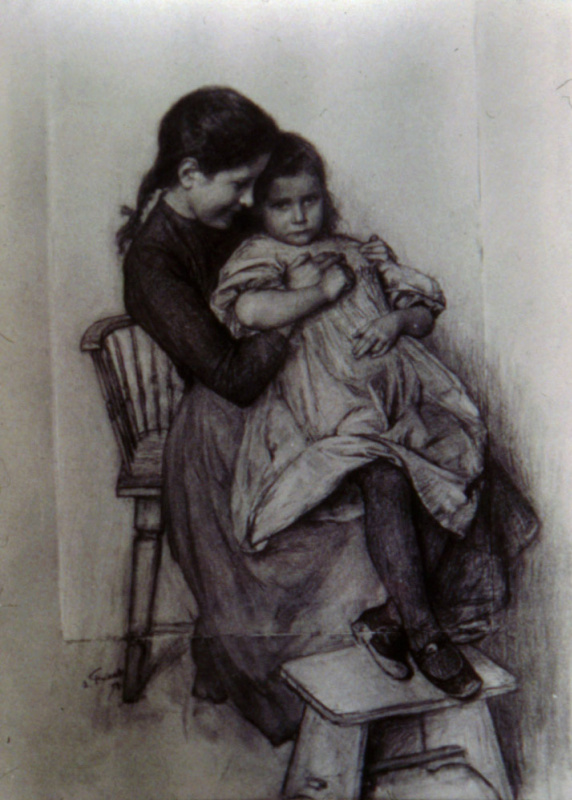 Эмиль Фриан. Сестры
