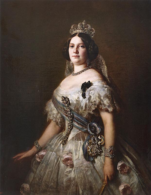 Franz Xaver Winterhalter. Queen Isabella II of Spain