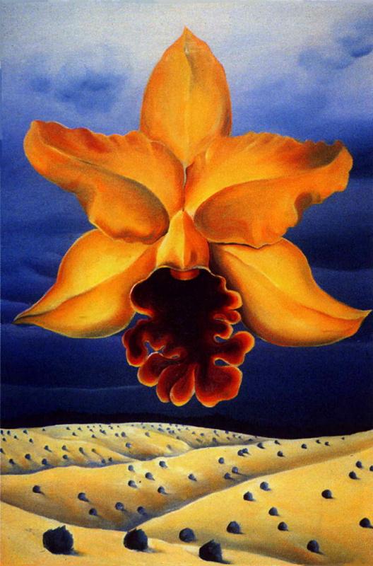 Дели Эссиева. Желтый цвет орхидеи
