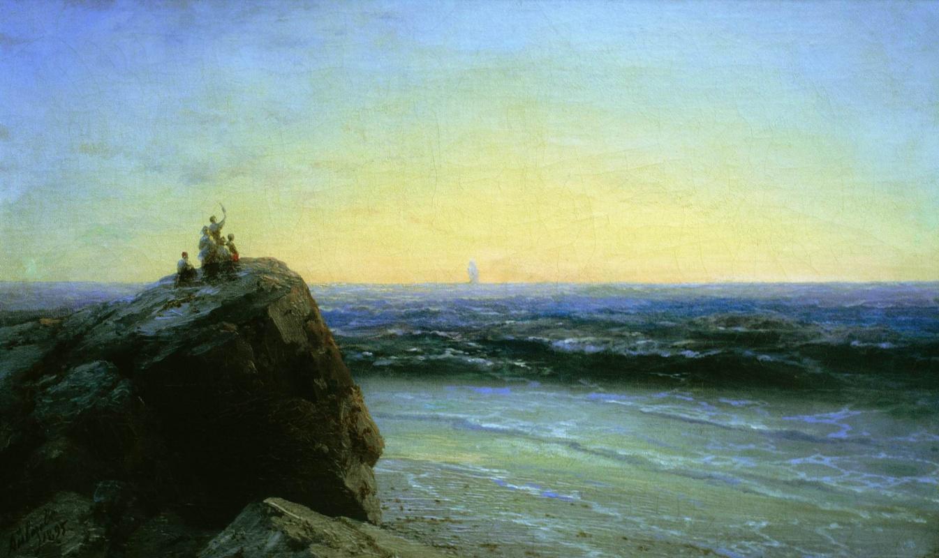 Ivan Aivazovsky. Goodbye