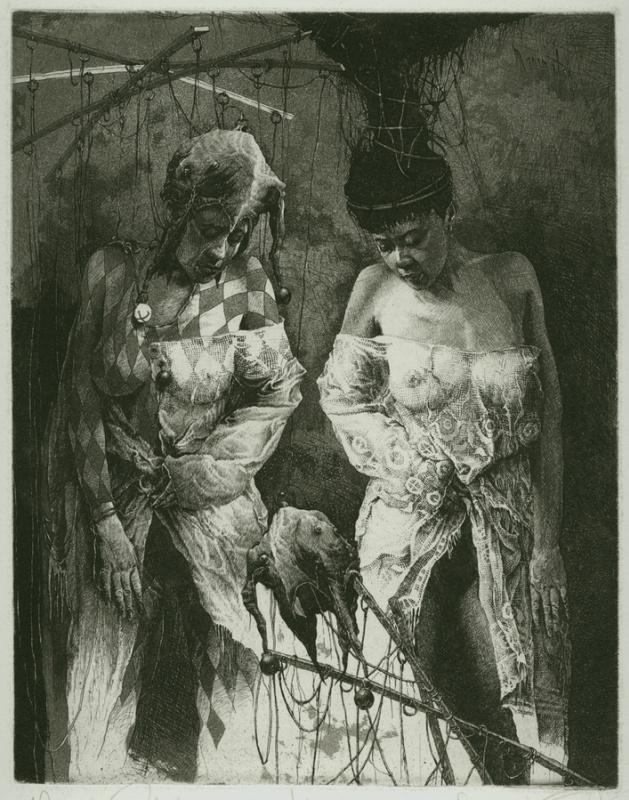 Alexandr Nikolaevich Steshenko. Пробуждение куклы. Мастер Кукол 3 лист